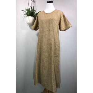 FLAX Jeanne Engelhart Linen Lagenlook Dress